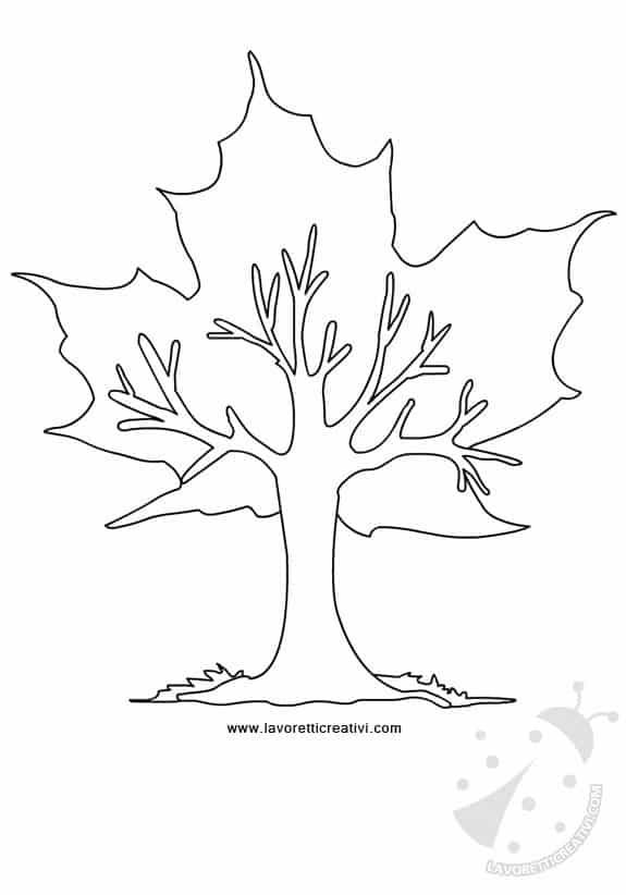 albero-autunno-con-foglia-acero