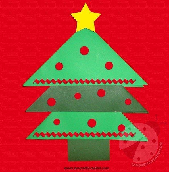 Lavoretti Creativi Albero Di Natale.Lavoretti Di Natale Per Bambini Albero Di Natale