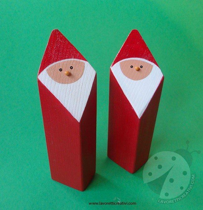 Babbo Natale Lavoretti.Idea Regalo Fai Da Te Babbo Natale Lavoretti Creativi