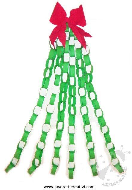 Decorazioni di natale albero di natale for Addobbi di natale per bambini scuola infanzia