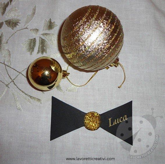 Decorazioni Capodanno - Segnaposti