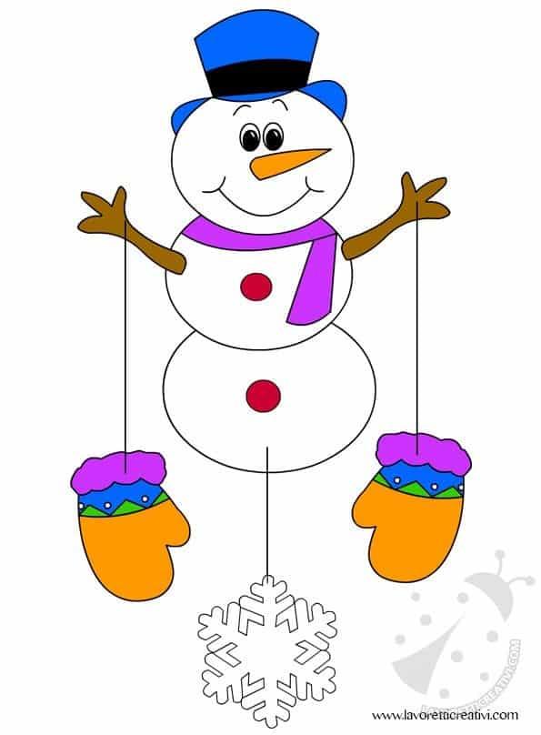 Addobbi invernali per la scuola 2 lavoretti creativi - Addobbi natalizi per finestre scuola infanzia ...