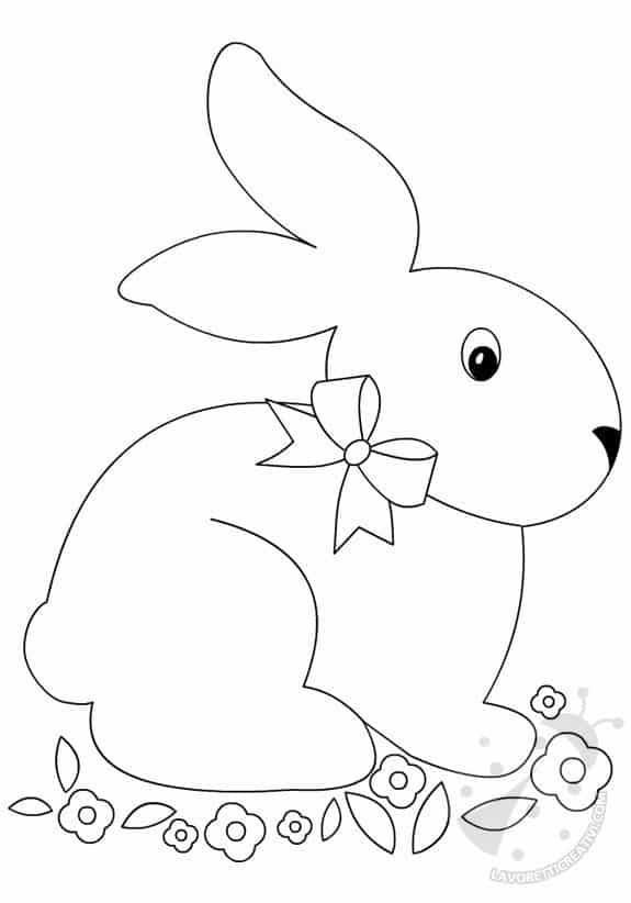 sagoma-coniglio-fiori