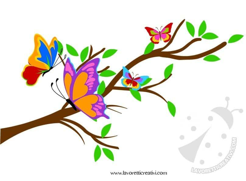 Decorazioni Di Primavera Per Aula Scuola Lavoretti Creativi