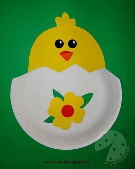 Lavoretti di Pasqua - Pulcino