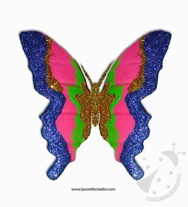 Come fare una farfalla con la bottiglia di plastica - Immagini di farfalle a colori ...
