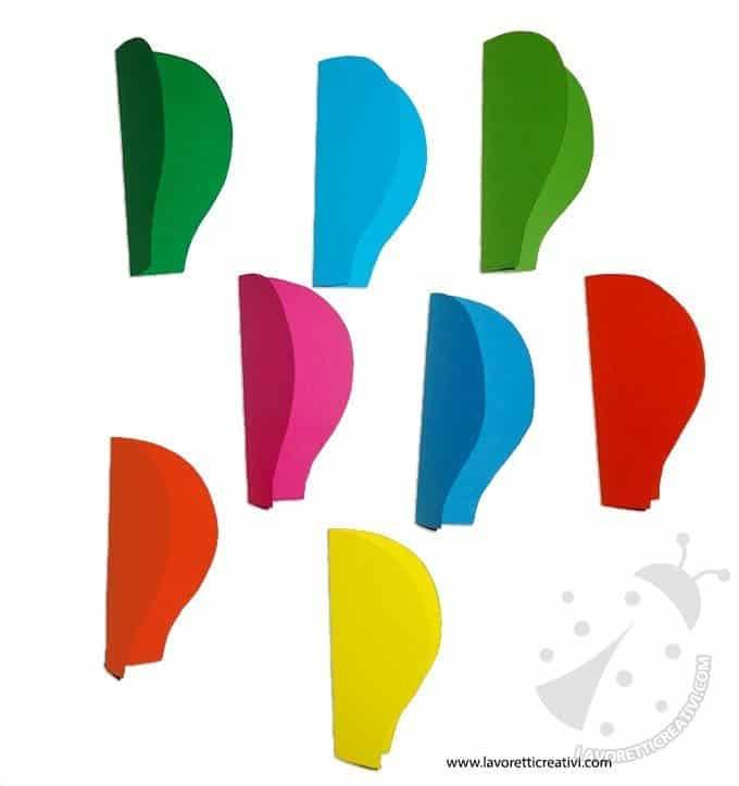 Addobbi aula mongolfiera di carta lavoretti creativi for Addobbi aula scuola primaria accoglienza