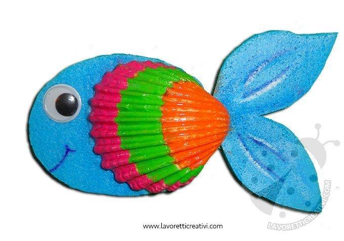 Lavoretti Art Attack Pesce Lavoretti Creativi