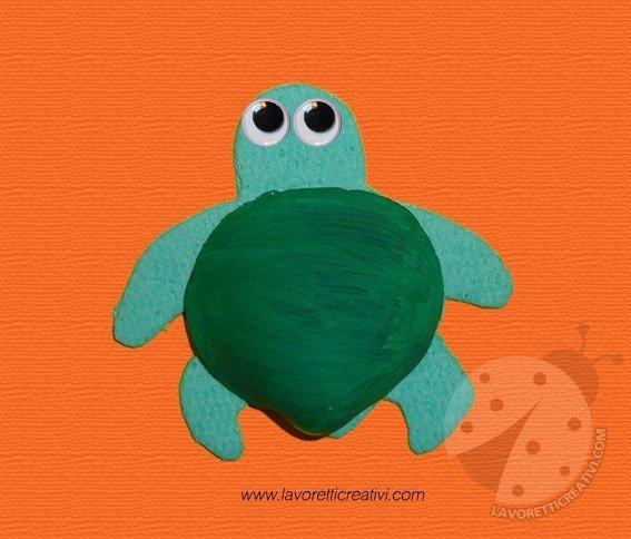 tartaruga-conchiglia-lavoretto-per-bambini