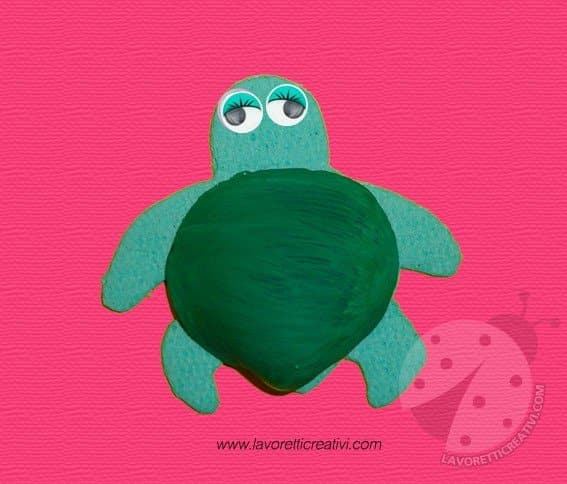 tartaruga-conchiglia-lavoretti-estate