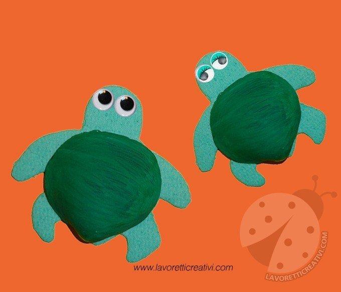 tartarughe lavoretti
