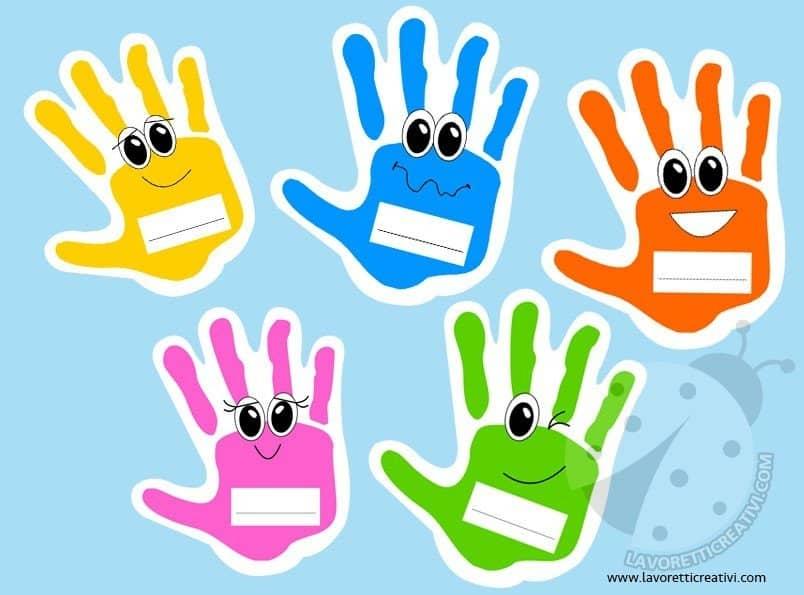 Accoglienza scuola primaria e dell 39 infanzia mani for Lavoretti accoglienza infanzia