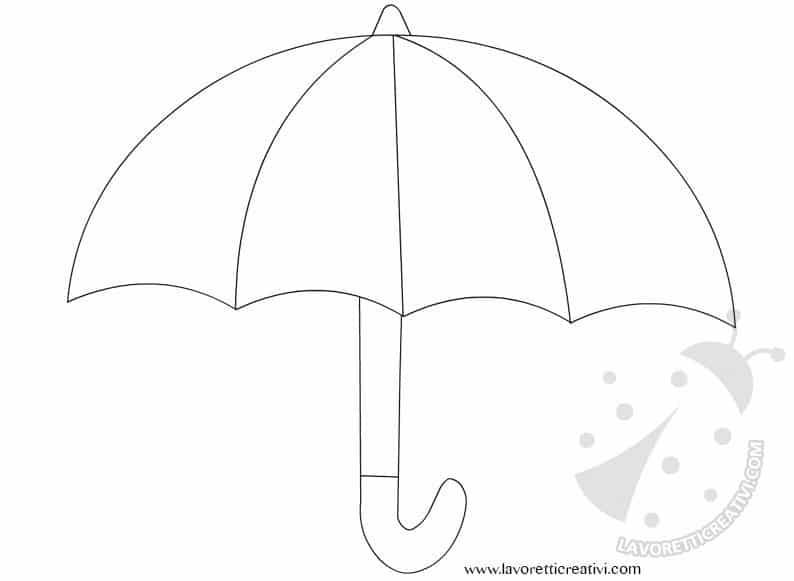 sagoma-ombrello