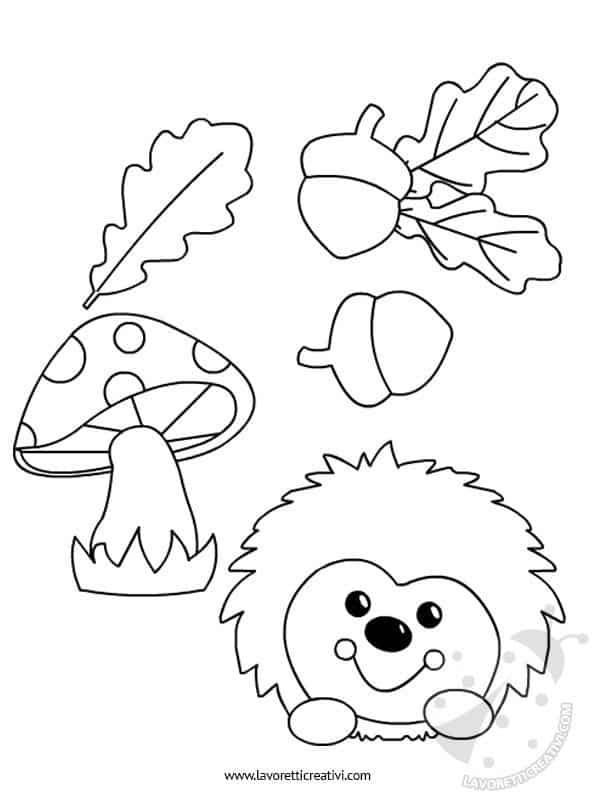Addobbi autunno ghirlanda lavoretti creativi for Addobbi autunno scuola infanzia