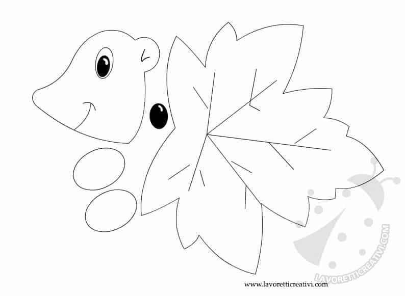 sagome-foglia-riccio