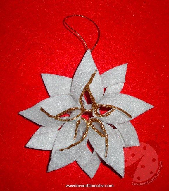 Stella Di Natale Con Il Feltro Lavoretti Creativi