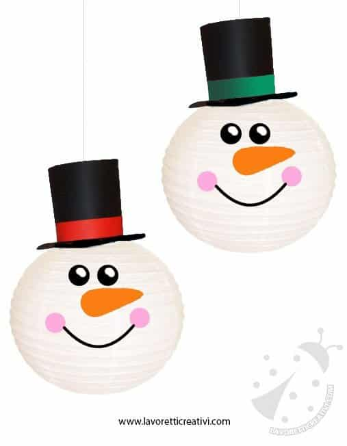 pupazzi-neve-lanterne-cinesi