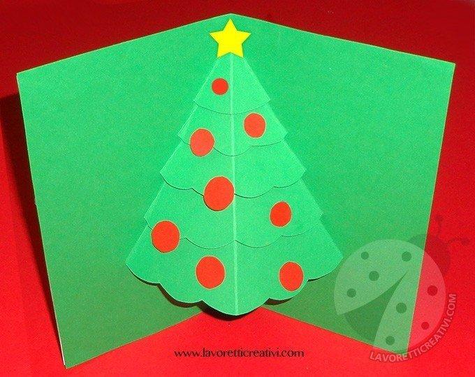 Biglietti di Natale Pop Up