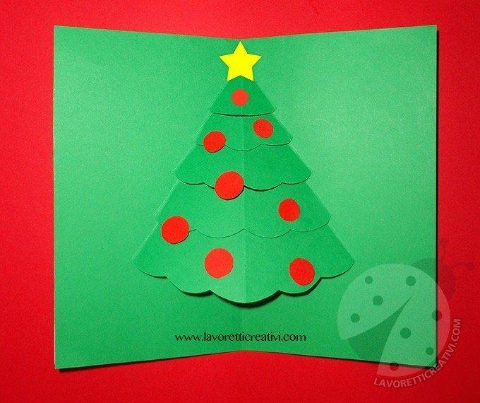 Biglietto di Natale Pop Up