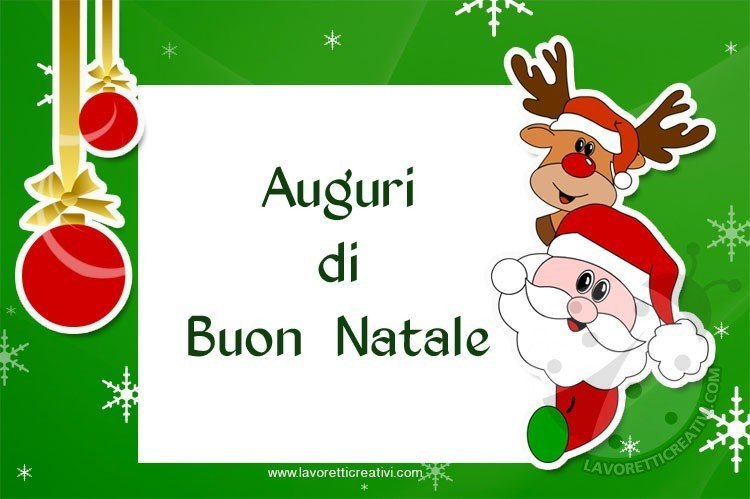 Cartoline di natale per whatsapp e facebook lavoretti for Cartoline di auguri per natale