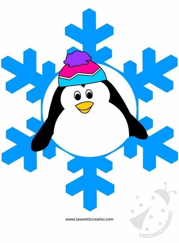Addobbi invernali con la carta lavoretti creativi - Disegni di natale per finestre ...