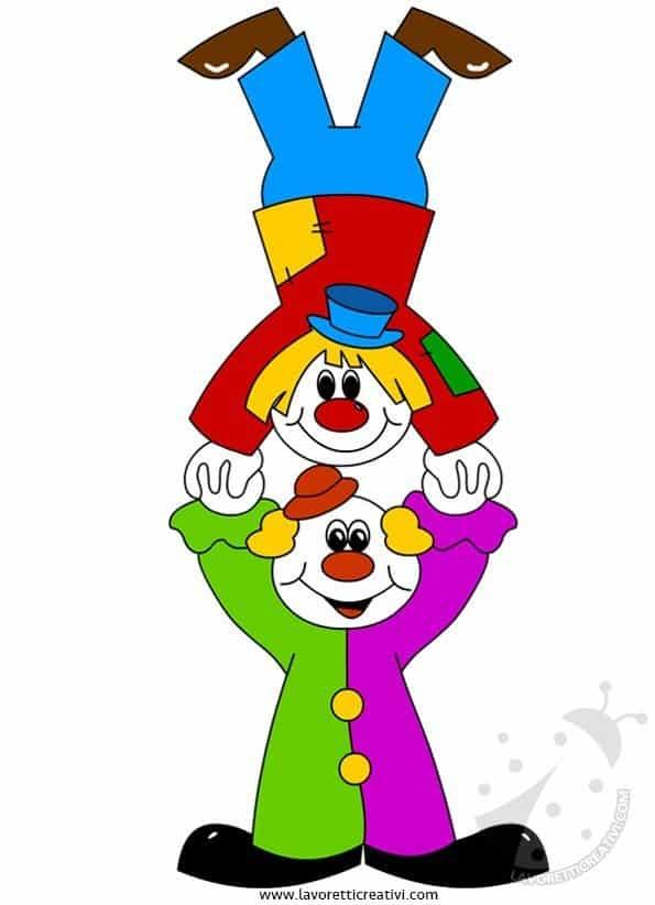 Addobbi Di Carnevale Per Aula Scuola Pagliacci Lavoretti Creativi
