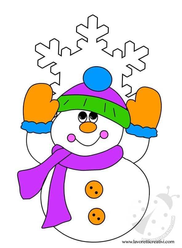 Addobbi invernali 1 lavoretti creativi for Addobbi di natale per bambini scuola infanzia