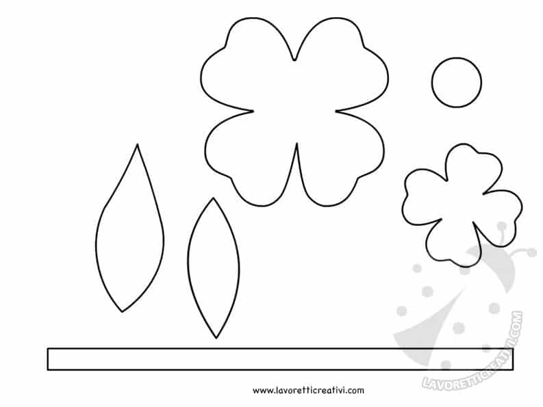 sagome fiore fisarmonica
