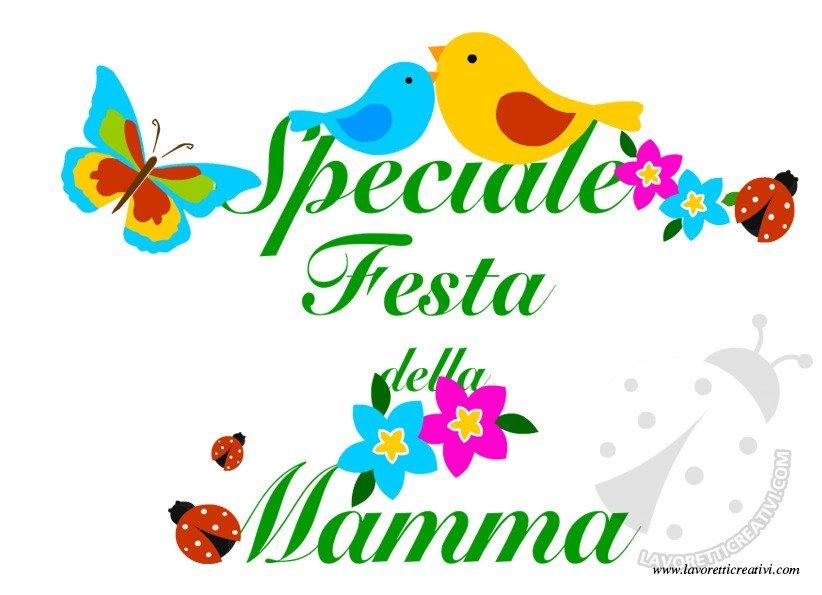 Speciale festa della mamma lavoretti lavoretti creativi for Maestra mary giornata della terra