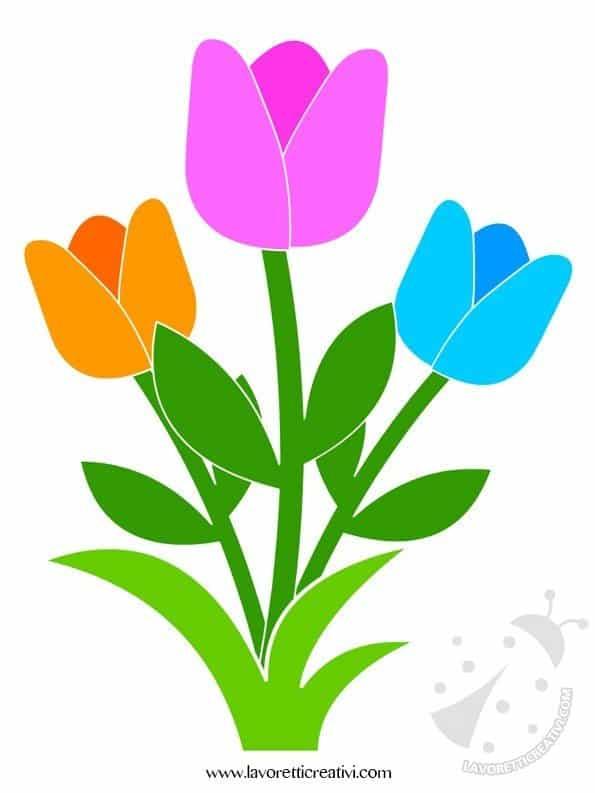 2166aa34400c Decorazioni Primavera con fiori