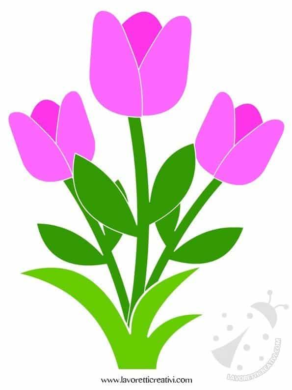 Decorazioni primavera con fiori lavoretti creativi - Fiori da giardino primavera estate ...
