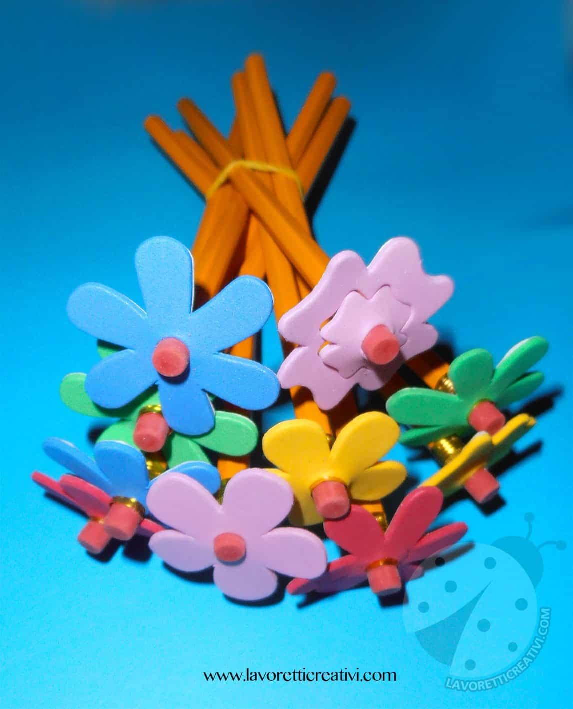 Lavoretti di fine anno scolastico con le matite for Siti per maestre scuola infanzia