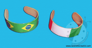 braccialetti calcio bastoncini italia