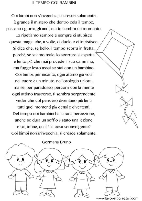 Poesia Fine Anno Scolastico Scuola Infanzia