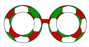 occhiali calcio