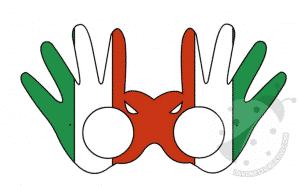 occhiali carta italia
