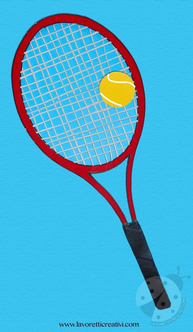 Lavoretti Creativi sullo sport - Tennis