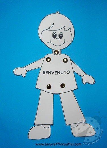 marionetta bambino