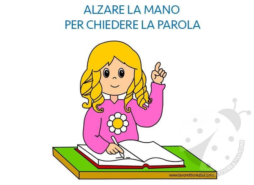 Regole classe scuola primaria da stampare