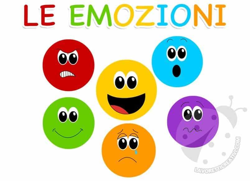 Le Faccine Delle Emozioni Lavoretti Creativi