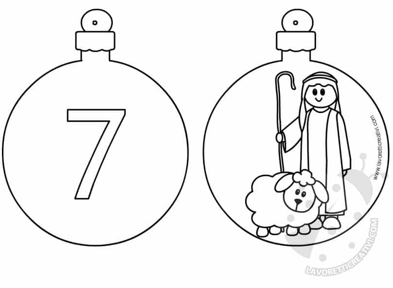 Calendario Avvento palline 7 e 8