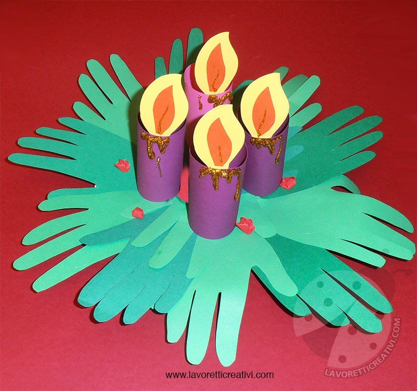 Corona Dellavvento Per Bambini Lavoretti Creativi