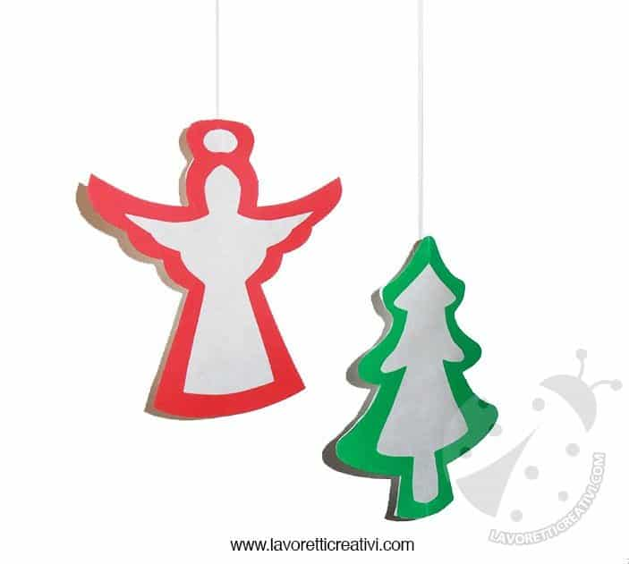 Decorazioni natalizie per porte e finestre lavoretti for Addobbi aula natale