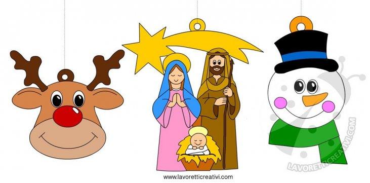 Immagini Natalizie Per Bambini.Decorazioni Natalizie Di Carta Per Bambini Lavoretti Creativi