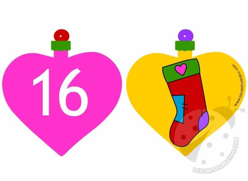 Calendario Avvento Palline 15 e 16