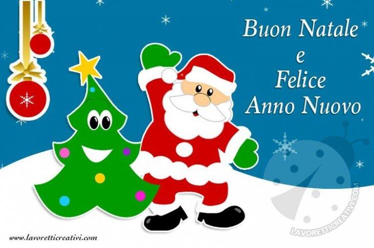 Babbo Natale Whatsapp.Immagini Con Gli Auguri Di Buon Natale E Felice Anno Nuovo