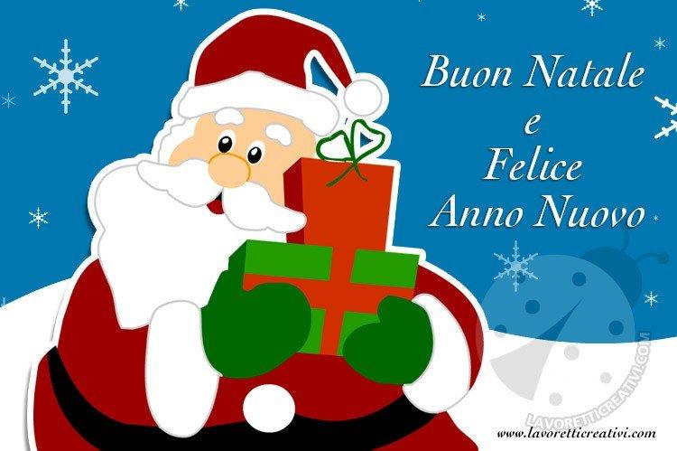 Immagini con gli Auguri di Buon Natale e Felice Anno Nuovo