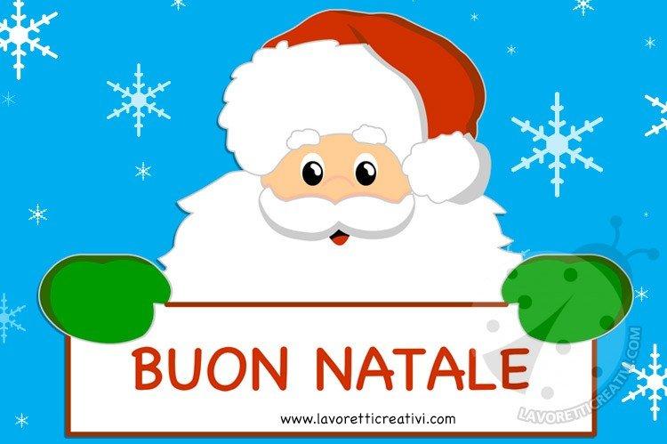 Auguri di Buon Natale con immagini