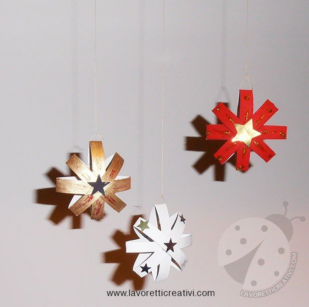 Lavoretti Di Natale Con La Carta Igienica.Decorazioni Di Natale Con Rotoli Della Carta Igienica