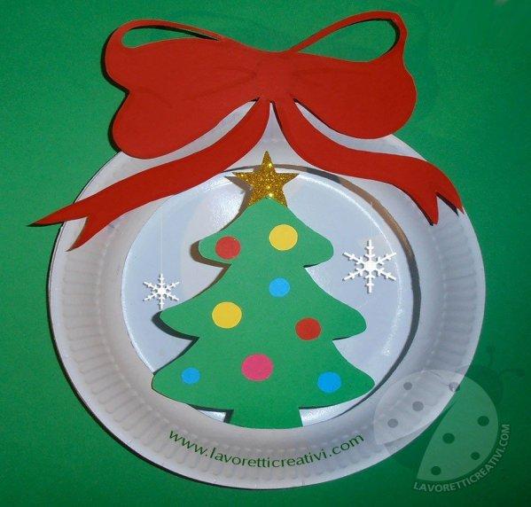 Foto Di Lavoretti Per Natale.Lavoretti Di Natale Facili Per Bambini